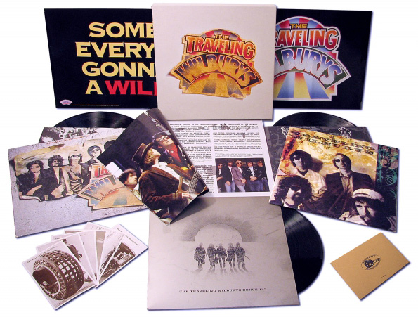 traveling wilburys vinyl collection original box
