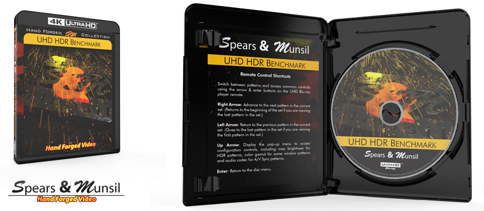 spears and munsel uhd kalibrerings disc